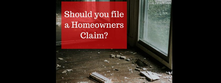 Will Filing a Homeowners Insurance Claim Impact My Rates?