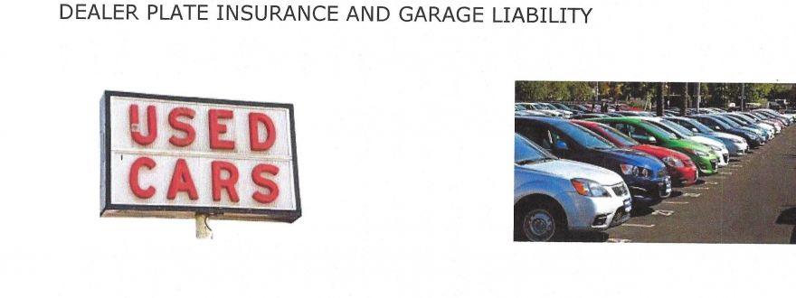 Dealer Plates Used Car Dealer