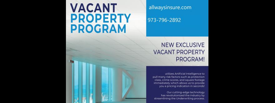 Vacant Building Insurance