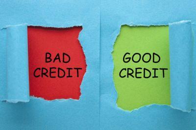 Bad credit and Good credit