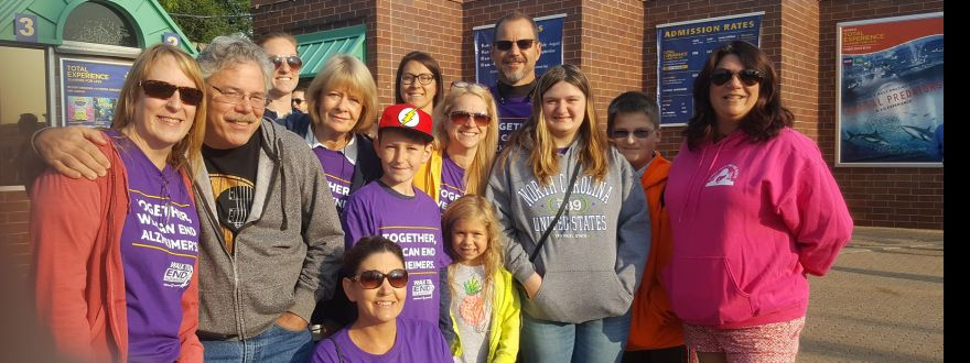 Alzheimer's Association Walk to End Alzheimer's Aug 26 2017