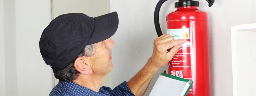 Inspecting Your Fire Extinguisher