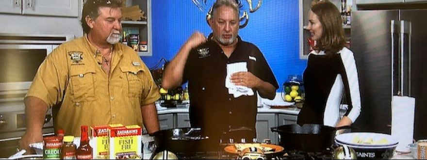 Sparky and Tuna on Fox8 Live!  TAILG8N Cooking Tips