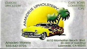 Amadeus Upholstery