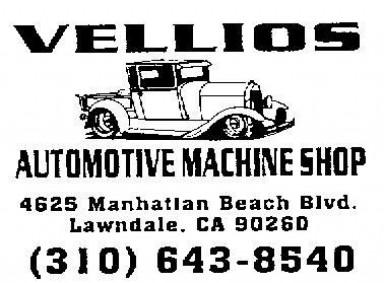 Vellios Automotive Machine Shop