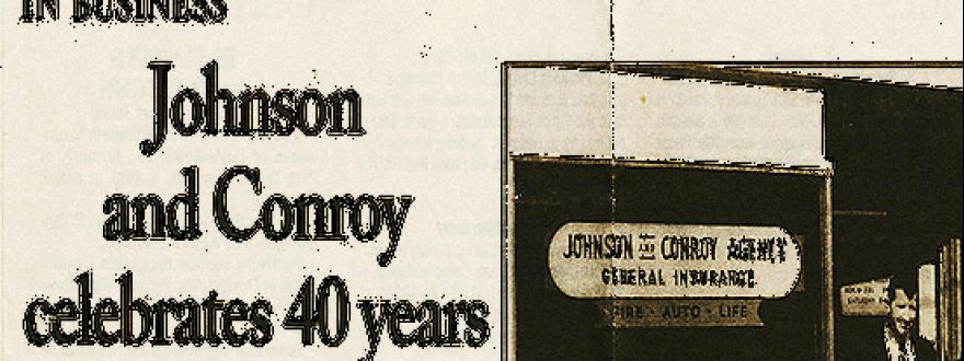 Johnson & Conroy celebrates 40 years article