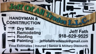 Welcome to Jeff of All Trades LLC