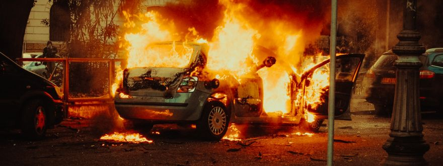 Does Your Auto Insurance Cover Damage Done During a Protest or Riot?