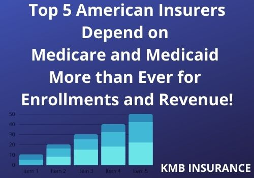 american insurance companies depend on medicare and medicaid for growth and revenue