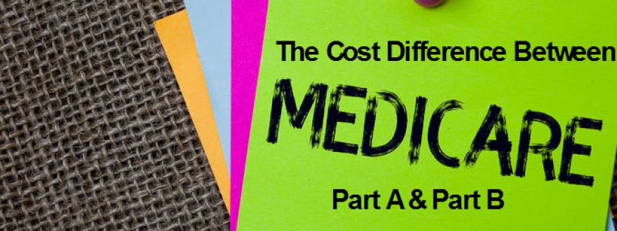 The Cost Difference Between Medicare Part A & Medicare Part B