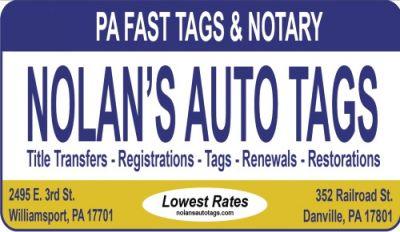 Nolan's Auto Tags