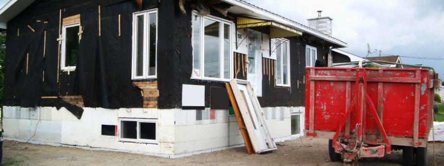 home renovation post League City storm