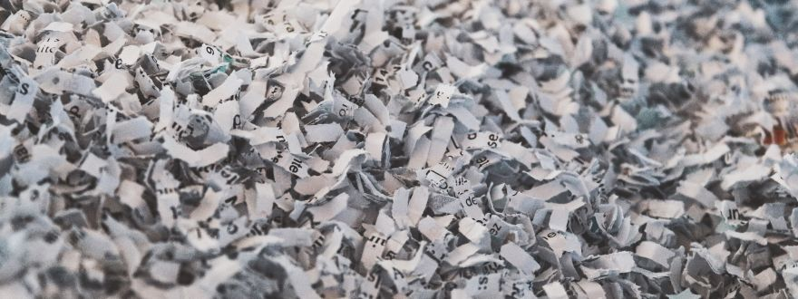 Identity Theft Goes Beyond Online: Shred Docs