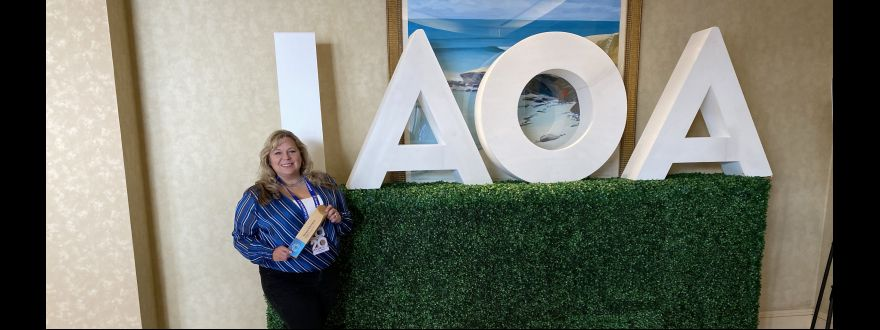 Sterling Insurance and Teresa Kitchens Wins IAOA's Collaborator Of The Year Award for 2019!