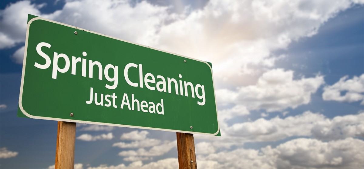 Spring cleaning to avoid insurance claims