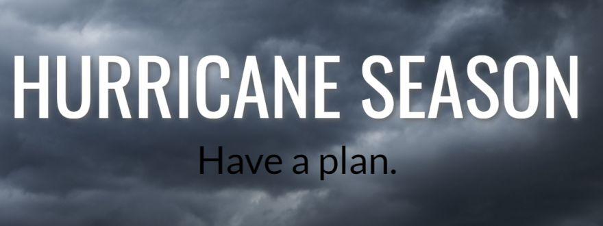 Welcome to Hurricane Season
