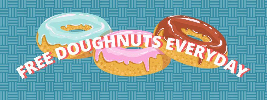 Krispy Kreme - Free Doughnuts with COVID-19 vaccine