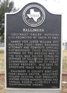 Ballinger, Texas Individual Health Insurance